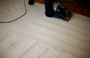 carpet and vacuum